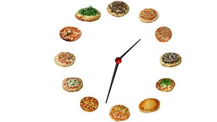 pizza ad ogni ora