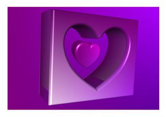 Herz modern