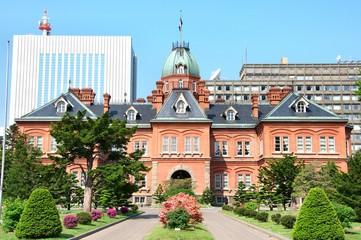日本の歴史的建造物(北海道庁 札幌赤レンガ)