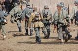 Soldierы. WW2 reenacting.Kiev,Ukraine poster