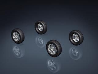 3d concept wheels