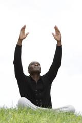 homme noir