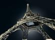 roleta: Tour Eiffel en contre plongée