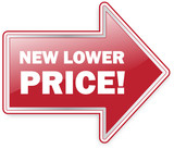 New Lower Price Arrow Label