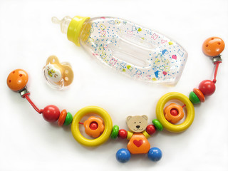 things for baby bottle soother teddy