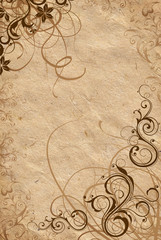 vintage background crushed paper flesh colour