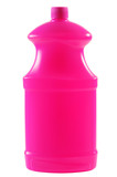Detergent bottle. Clipping path. poster