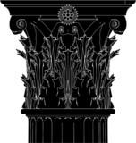 Greek Corinthian Column Vector 04 poster