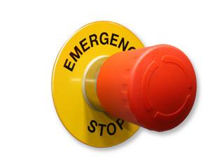 pulsante emergency stop