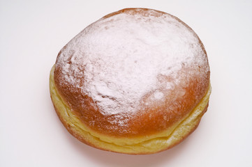 Fritter - Berliner - Krapfen with clipping path