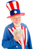 Rich Uncle Sam poster