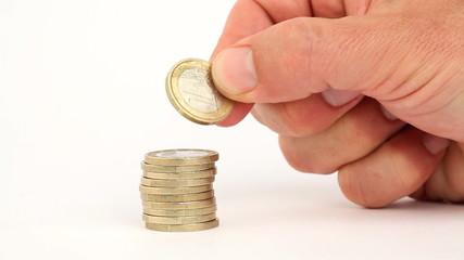 geld sparen euro währung
