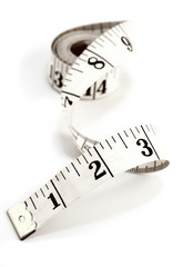 Measuring tape, centimeter
