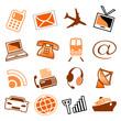 Telecom & transport icons