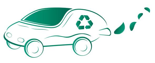 Voiture écologique design