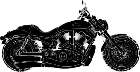 Motorcycle Vector 01