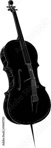 Violoncello Vector 02