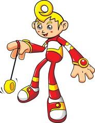 Future boy with yo yo