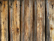 Timber wall - Bretterwand