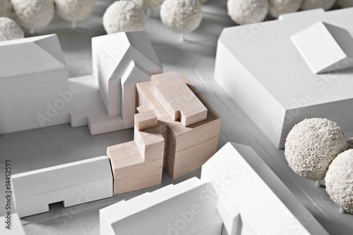 Leinwanddruck Bild Modell