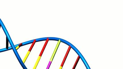 sich drehende DNA