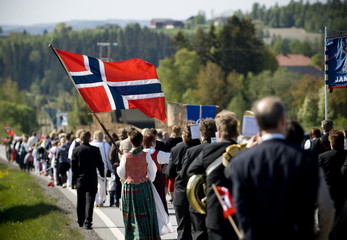 17th of May parade in Norway