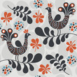 roleta: pattern with birds