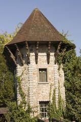 Schöner Turm im Heidepark Soltau