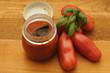 Salsa di pomodoro fatta in casa con San Marzano