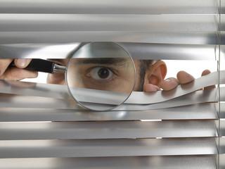Extreme peeping Tom