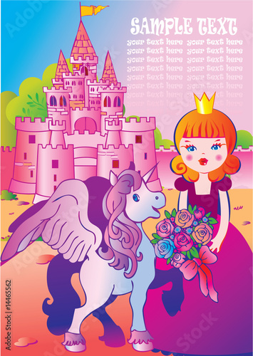 Poster Pony Fairy tale