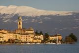 Fototapety Salò sul lago di Garda