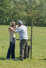 shooting lesson
