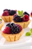Fototapety Fruit petite cakes