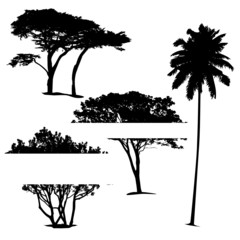 vector set of trees....
