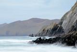 Ireland seashore at Dingle peninsula poster