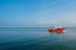 Fototapete Ostsee - Horizont - Fischerei