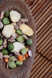 zuppa contadina - cucchiaio di legno poster