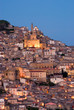view of old italian village at twilight