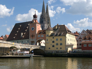 Donaurundfahrt in Regensburg