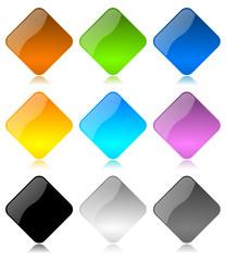 Rombi Vettoriali colorati 2