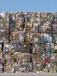 Ballots de papier à recycler
