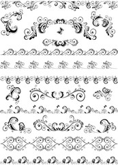 Decorative border and design elements
