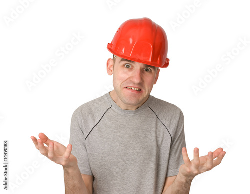 unhappy and disgruntled worker