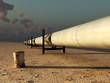 pipeline in desert