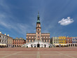 Leading the market and town hall in Zamosc