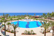 Swimming pool area in popular hotel, Antalya, Turkey - 14506749