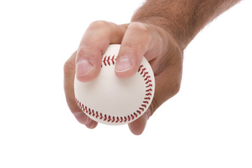 Four seam fastball baseball pitching grip