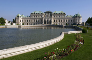 The Belvedere is a baroque palace complex