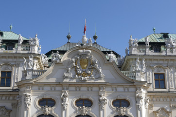 The Belvedere is a baroque palace complex . Palace details